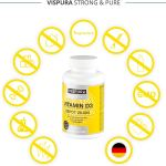 Vispura Strong And Pure –  Vitamina D3 ad alto dosaggio 20000 UI