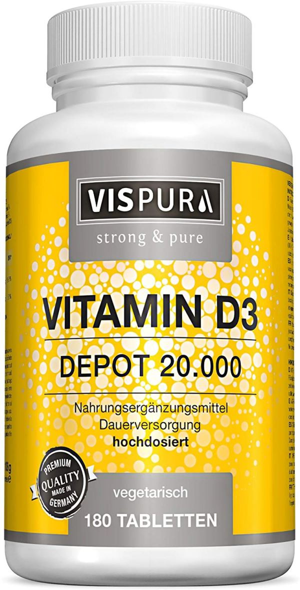 Vispura® Vitamina D3 ad alto dosaggio 20000 UI