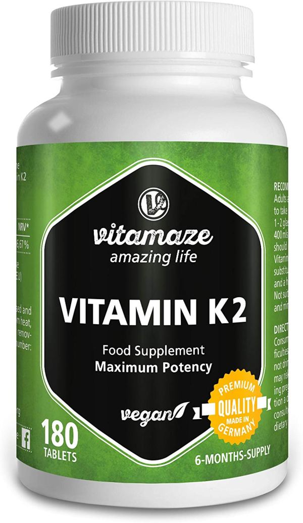 Vitamaze® Vitamina K2 MK-7 200µg -180 compresse