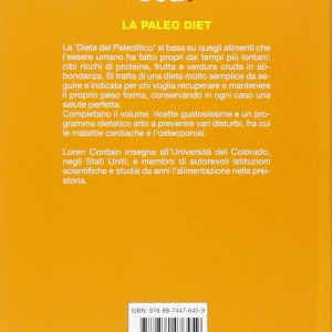 Copertina La paleo diet. Ediz. illustrata di Loren Cordain