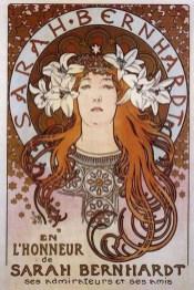 Alfons Mucha, Sarah Bernhardt