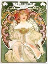 "Alfons Mucha, ""Rêverie"" - 1897"