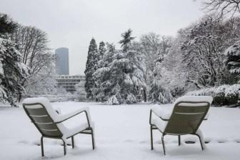 Jardin du Luxembourg - @JardinLuco - panchine - 7 feb