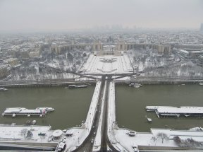 La tour Eiffel - @LaTourEiffel - Trocadero - 7 feb