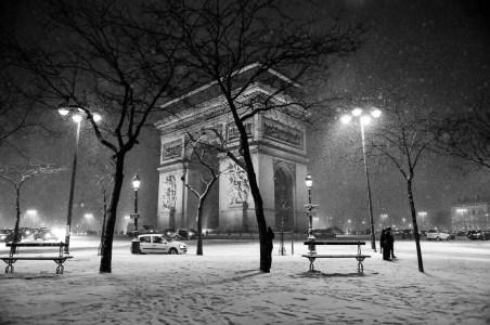 Paris - @ParisAMDParis - Arc de Triomphe - 6 feb