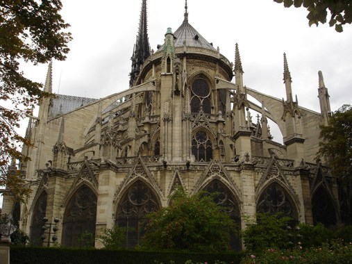 Notre-Dame de Paris abside