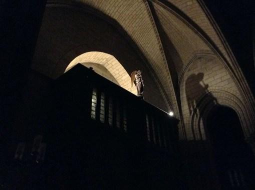 Notre-Dame interno notte