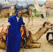Figure e animali locali al matrimonio di Poppy a Marrakesh