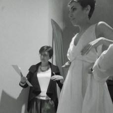 Ilde alle 2 prove - Custom wedding dress Annalisa Colonna