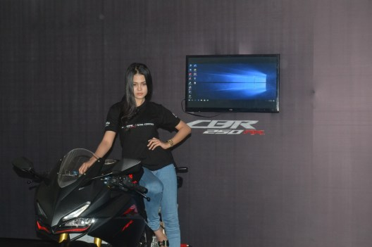 Meriahnya Acara Launching All New Honda CBR250RR di Batam