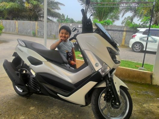 Welcome Home Yamaha N-Max 155