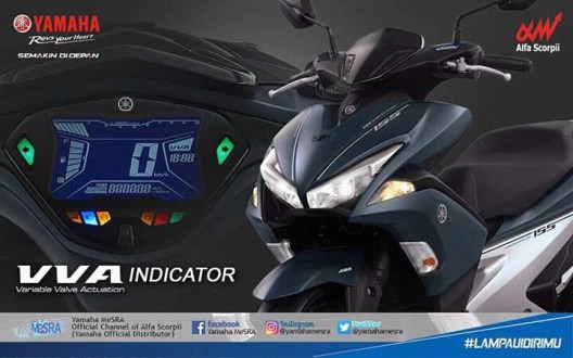 DP 2 Jutaan Sudah Bisa Miliki Yamaha Aerox 155 VVA