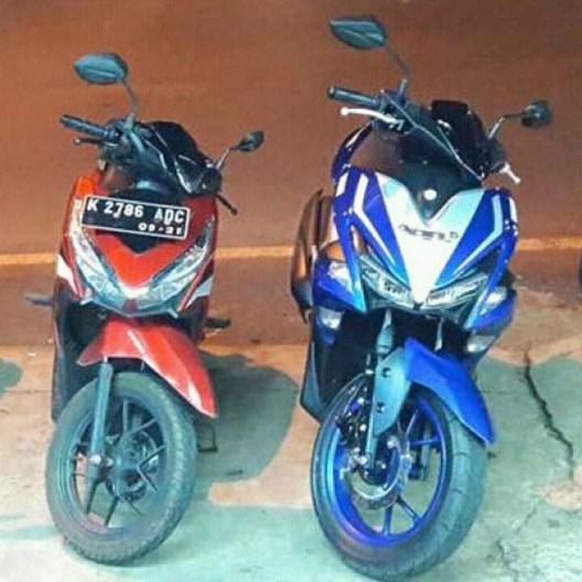 Penjualan Yamaha Aerox 155 VVA Makin Mendekati Honda Vario 150 ESP