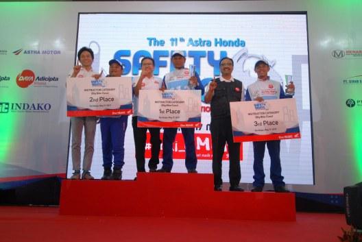 Capella Honda Borong Piala AH-SRIC 2017