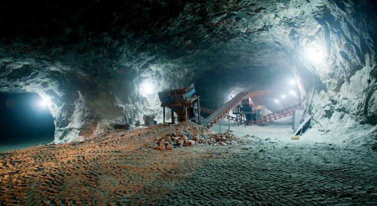 Minería bajo tierra
