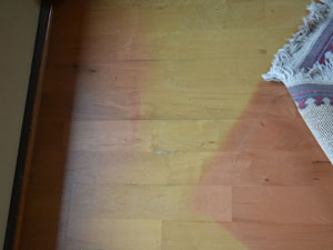 laminate flooring problems floor fade