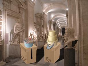 Visita di Renzi e Rouhani ai Musei Capitolini - Cartoni 01 - Graphics: Francesco Giannotti