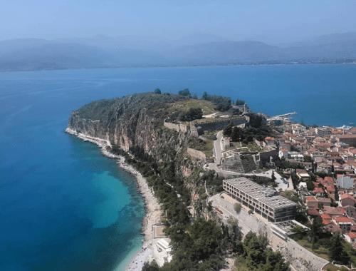 Nauplie en Grèce
