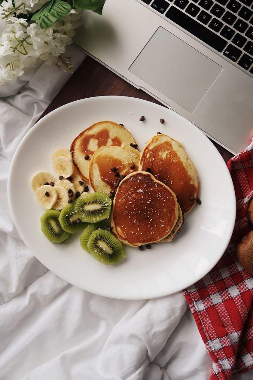 pancakes à la banane sans sucre