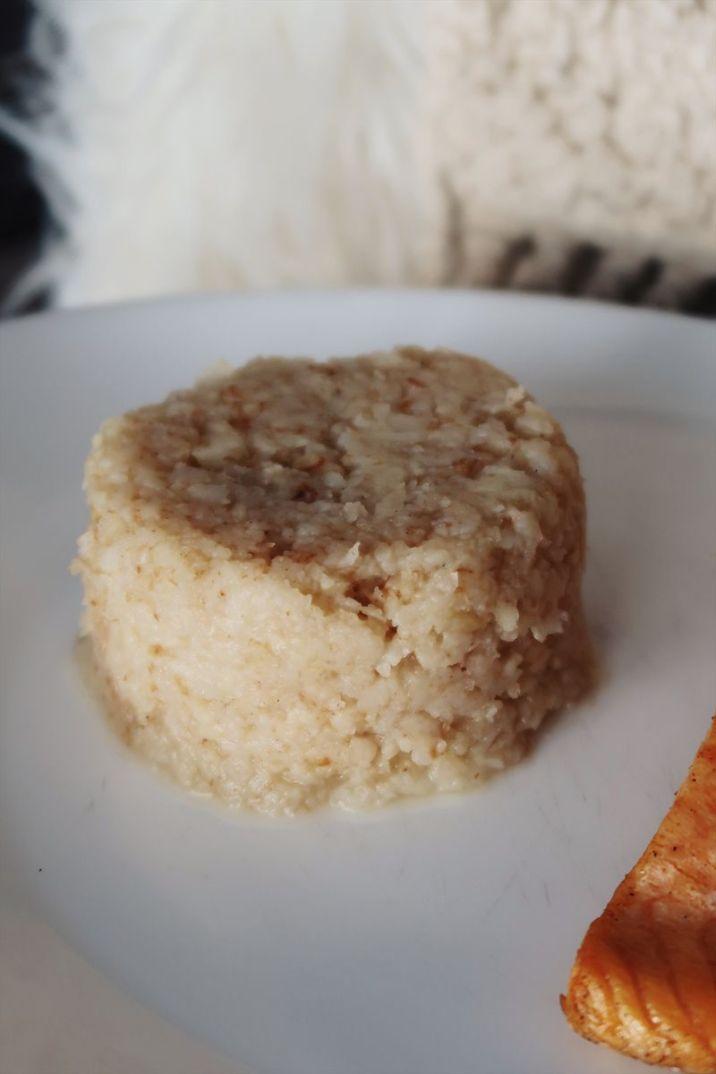 purée de céleri au saumon sans sucre