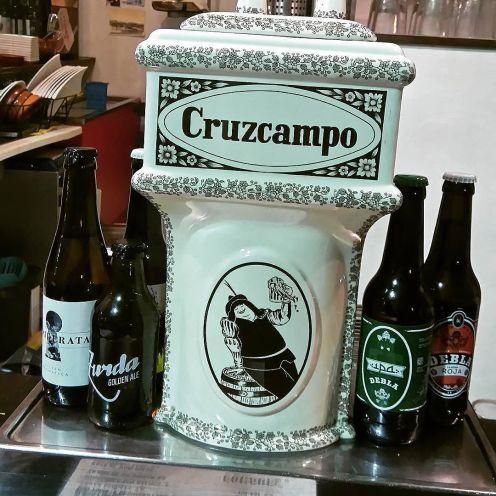 Cruzcampo et tu envois du gros !