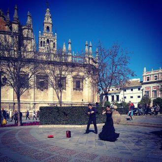 #seville #sevillecathedral #flamenco