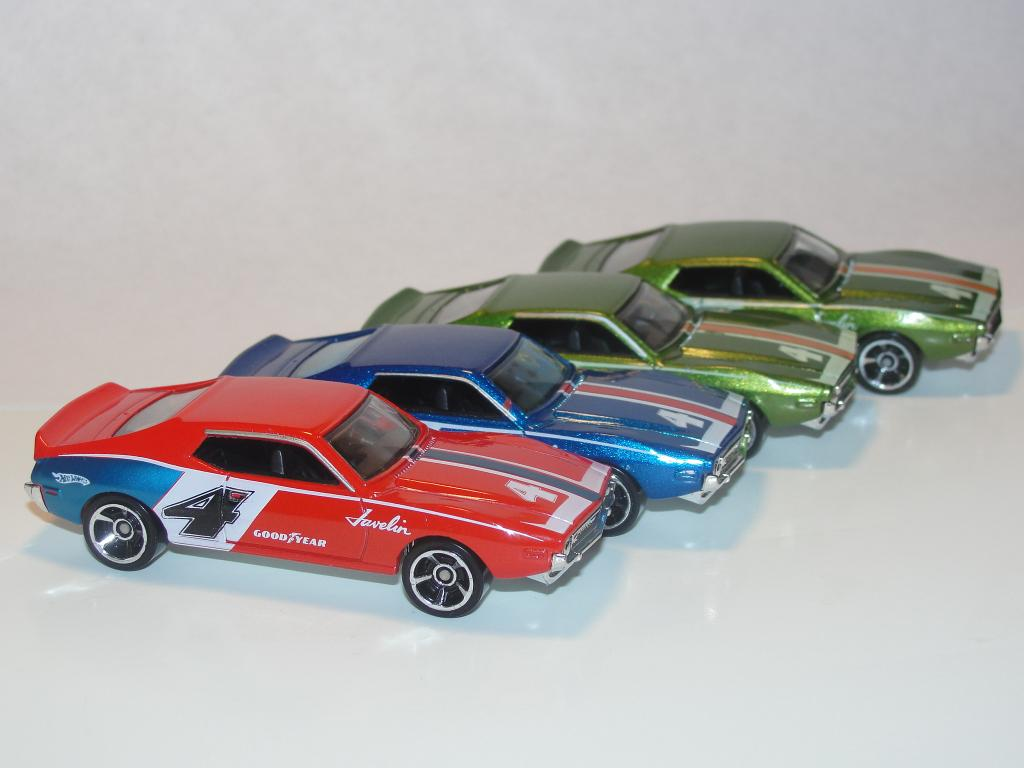 Special Collections: 1 eyed jack's Hot Wheels AMC Javelin AMX