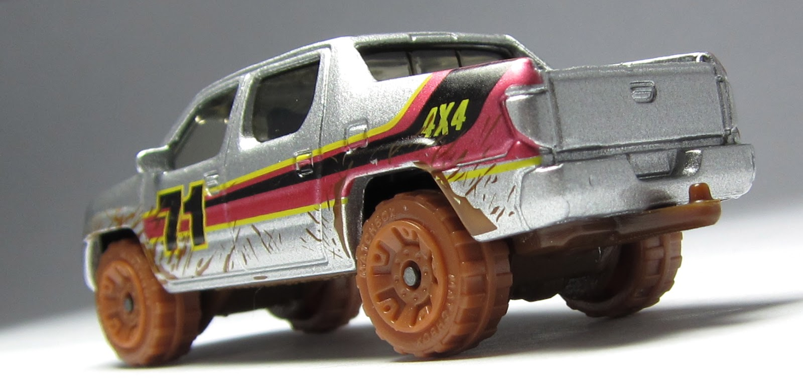 B Img on Matchbox Honda Ridgeline