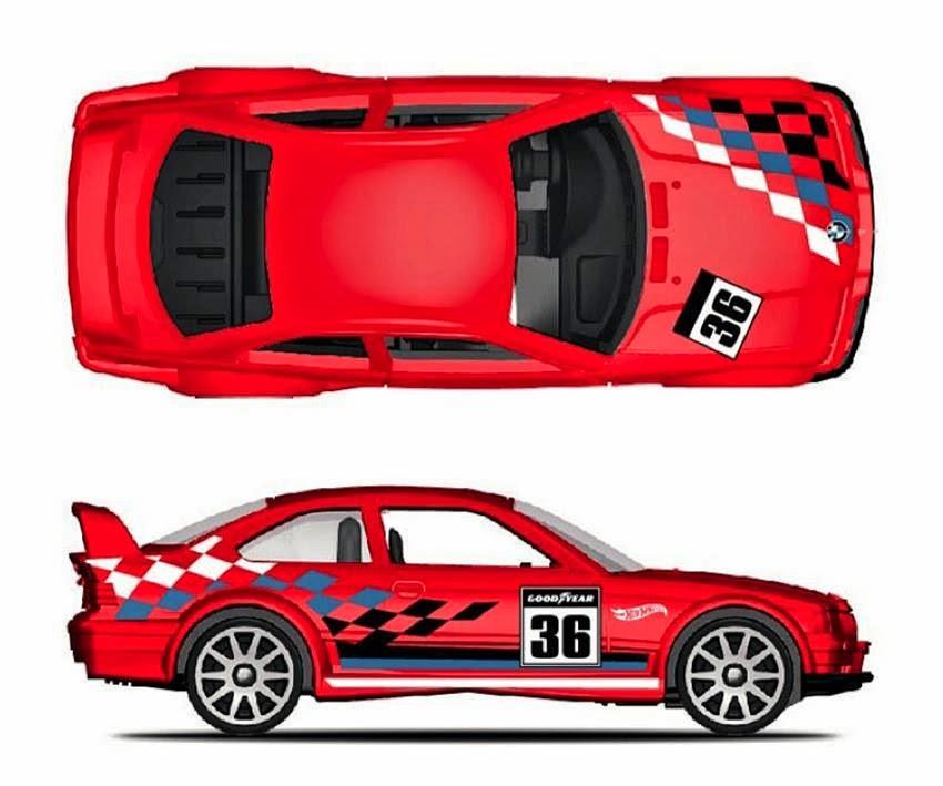HotWheels BMW E36 No3//8 Limited Edition