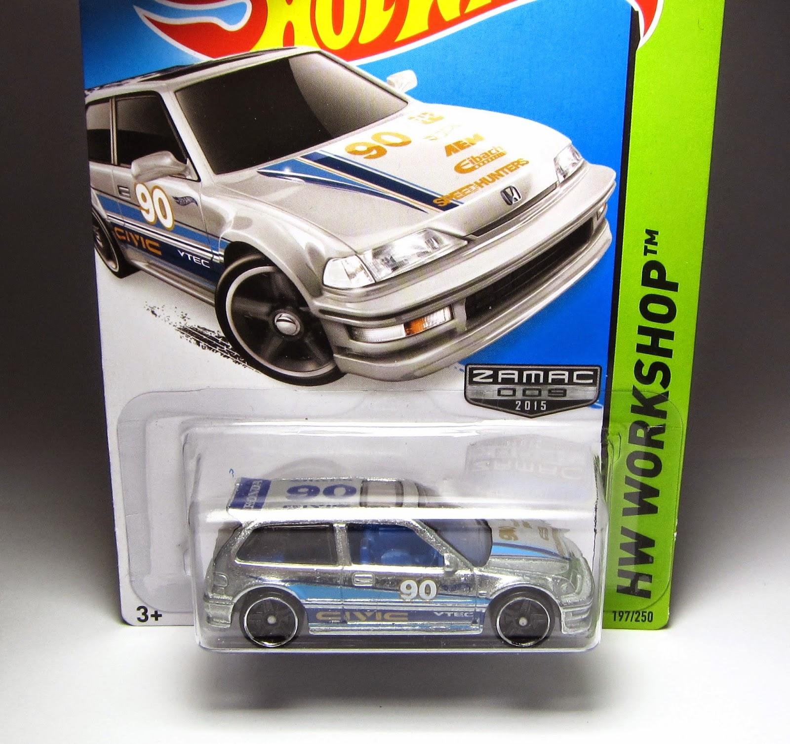 Hot wheels 1990 Honda Civic Ef Black Hw City | eBay