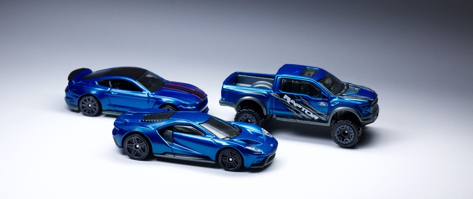 The Liquid Blue Trifecta Is Complete With The Debut Of The Hot Wheels  Ford Gt