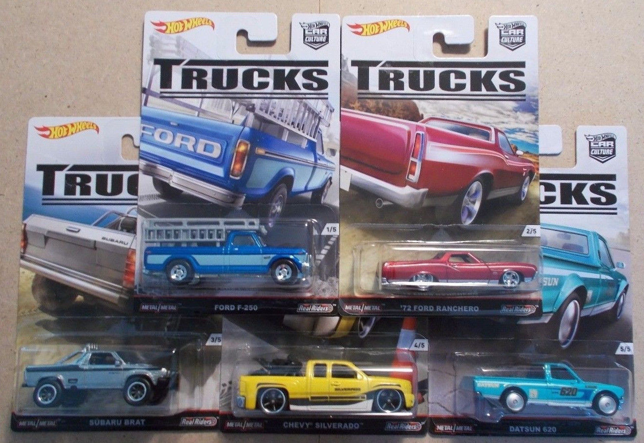 hot wheels car culture trucks is now available at wheel. Black Bedroom Furniture Sets. Home Design Ideas