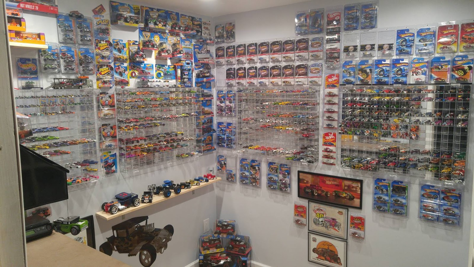 The Incredible Hot Wheels Bone Shaker Collection And Room Of Nate