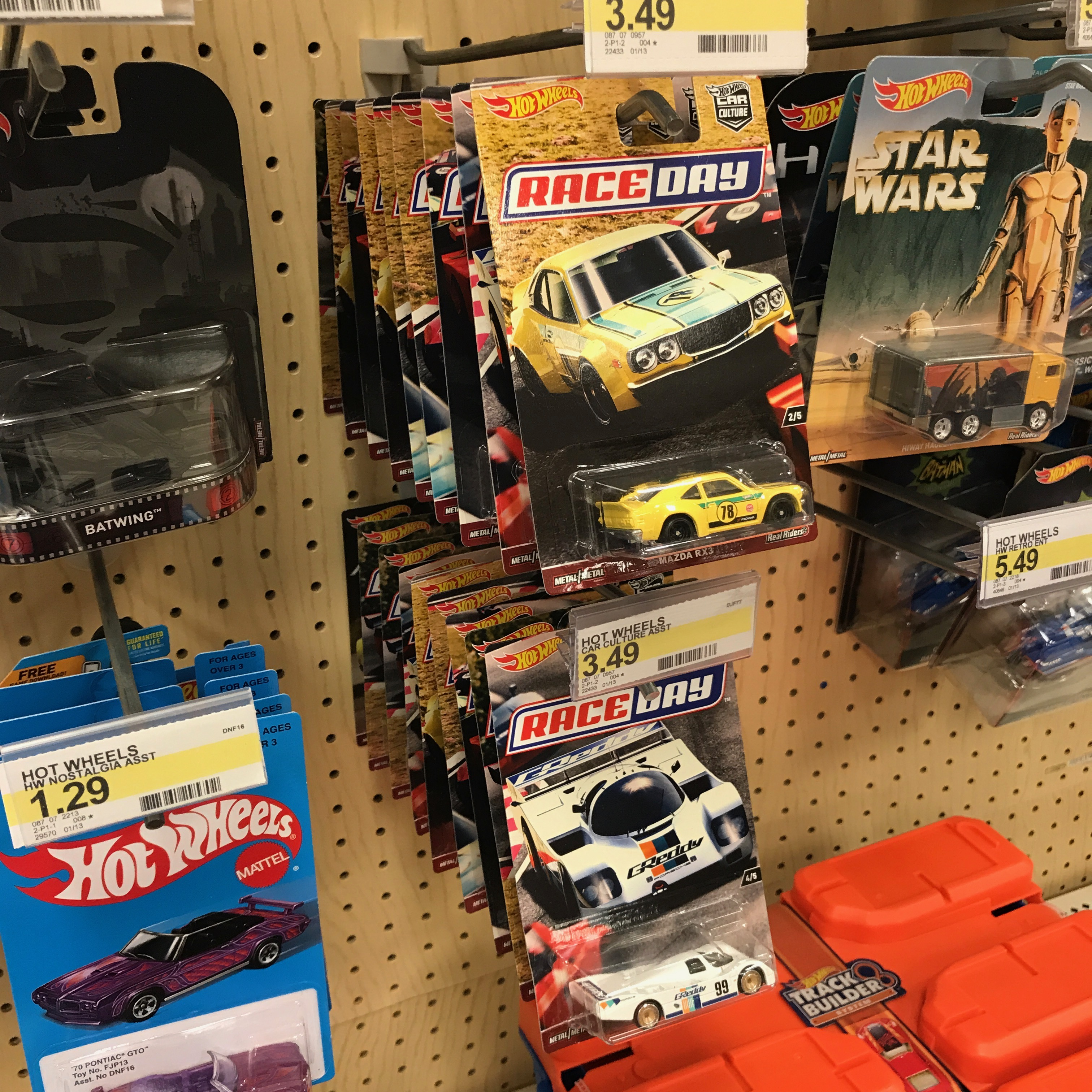 Hot Wheel Car Culture Race Day is hitting Target and Walmart ...