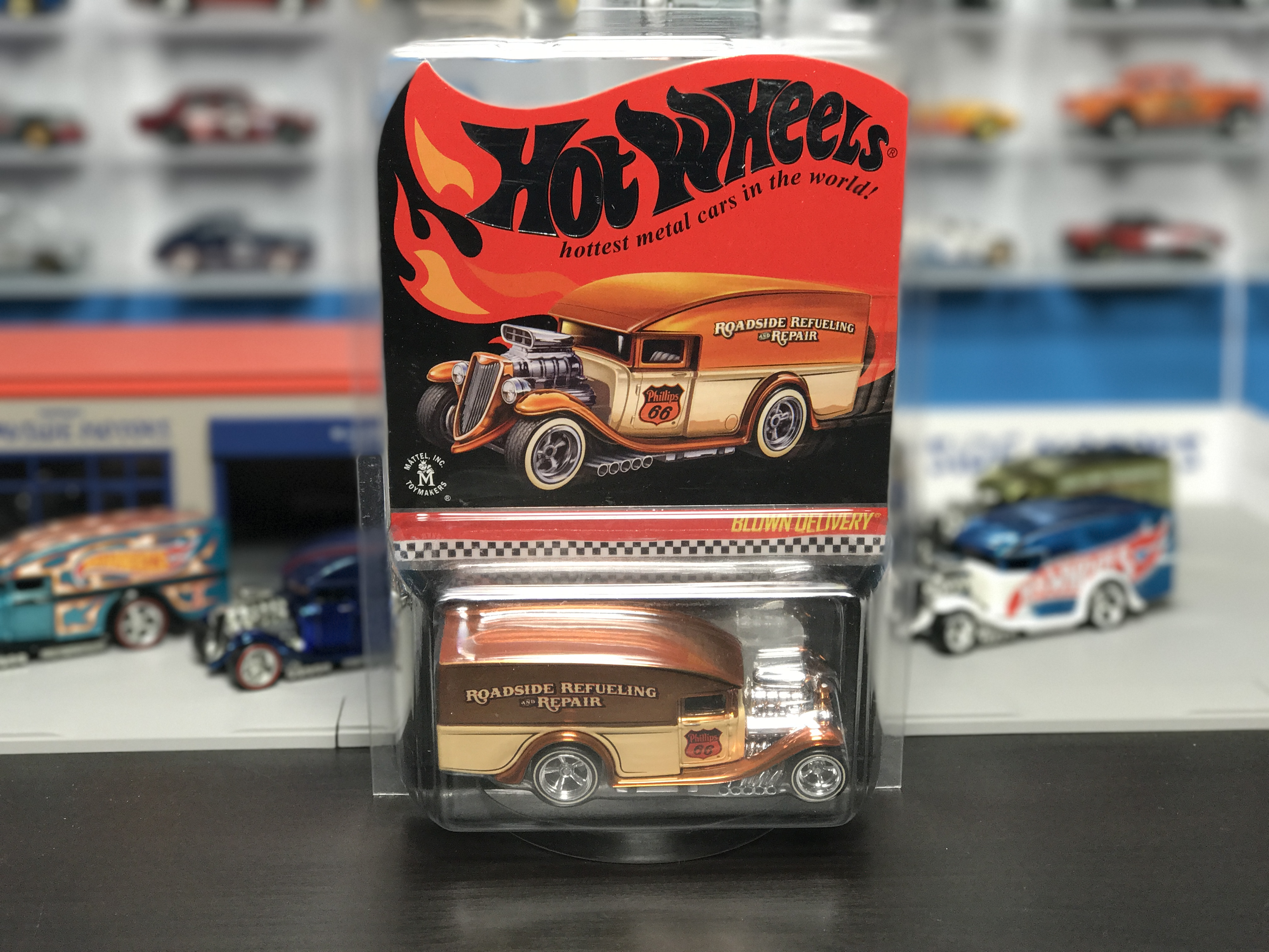 The Hot Wheels HWC Special Edition Blown Delivery goes on sale ...