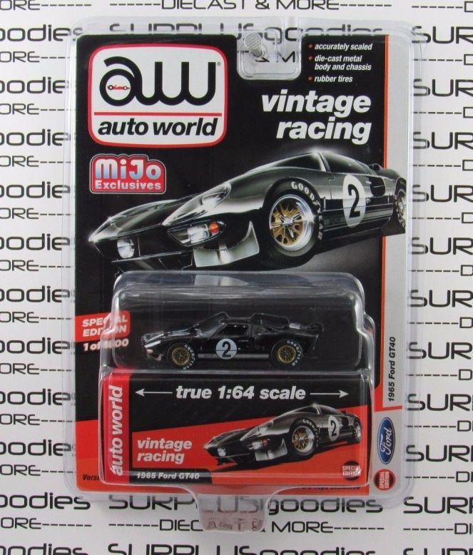 The MiJo Exclusive Auto World Ford GT40\'s are now out. – the ...