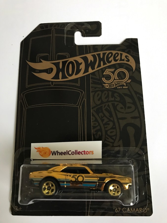 2017 Camaro 50th Anniversary >> New Hot Wheels 50th Anniversary Set – with '67 Camaro Chase – is now out. – the Lamley Group