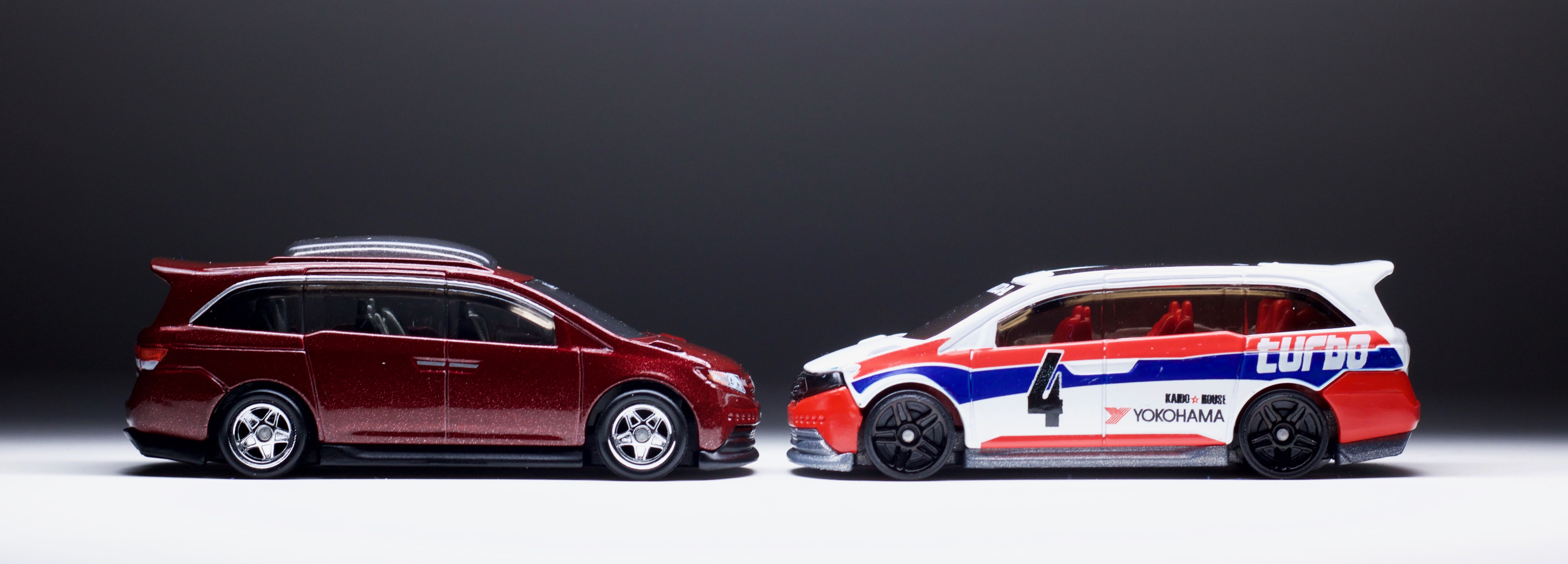 The Hot Wheels Honda Odyssey goes more stock for Car Culture Cargo
