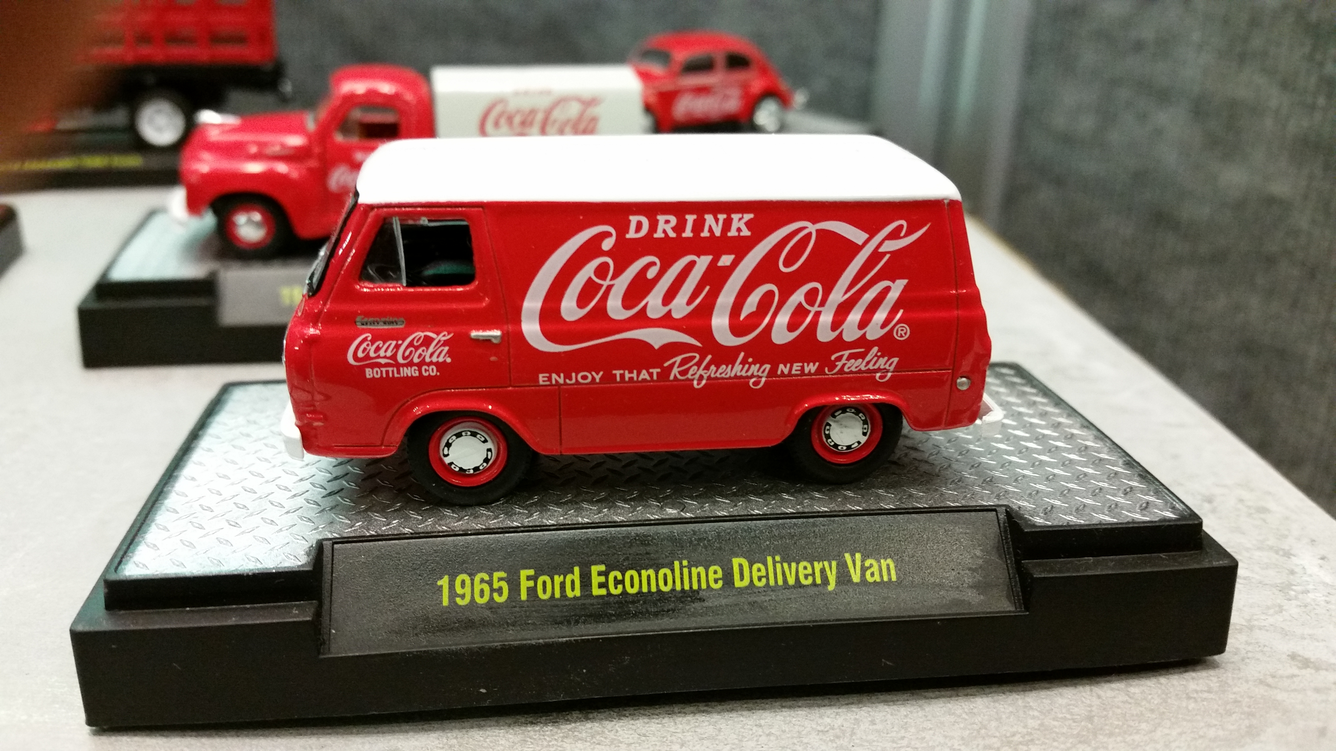 G SCALE COCA COLA CASES IN MINIATURE 1:24 HIGHLY DETAILED 3 CASES MINIMUM
