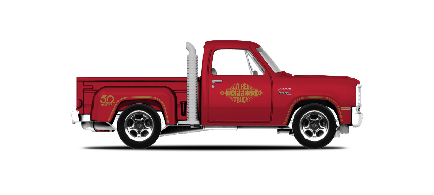 31. '78 Dodge Lil Red Express Truck