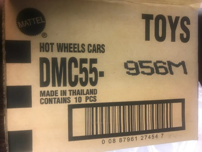 Case Report: Hot Wheels Replica Entertainment 2019 Mix M