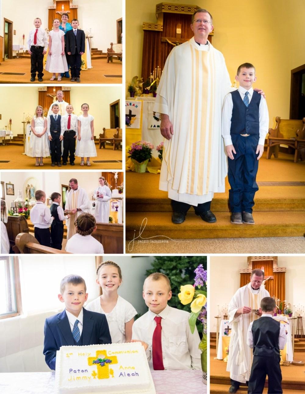 1st communion collage