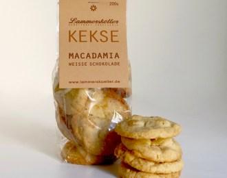 Macadamia-Weisse Schokolade
