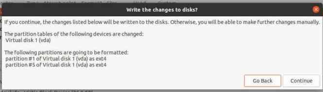 Format disk ubuntu 21.04