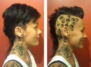 leopard hairstyle - hairstyles