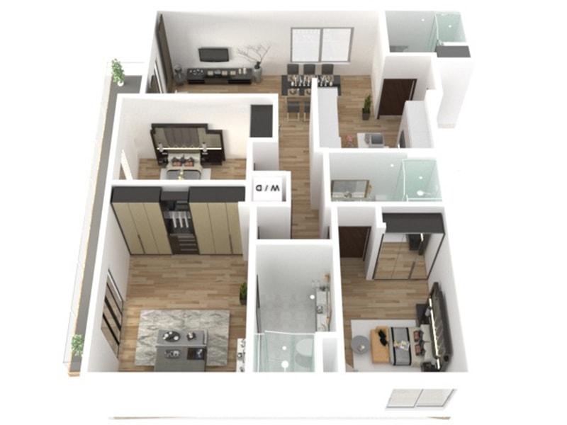 Floor Plans La Modern Condos