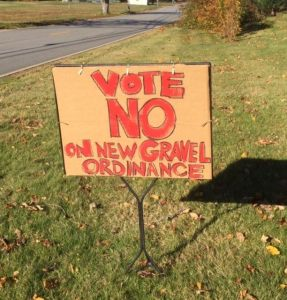 Vote No handmade