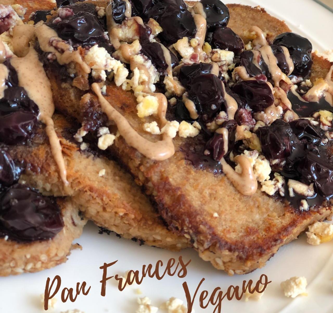 Pan frances vegano