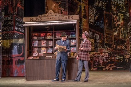 (L to R) Matthew Stewart as Sky Masterson and Zach McCulley as Nathan Detroit in the Lamont Opera Theatre production of Frank Loesser's GUYS & DOLLS-small.
