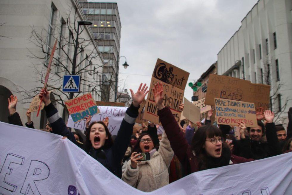 manifestación 8M galería de fotos Barcelona, Vilnius, Londres